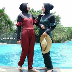 Baju Renang Muslimah Adelle Tokopedia