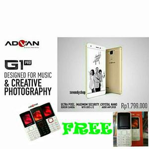Advan G1 Lte 3gb 32gb Sensor 0 3 Detik Garansi Resmi Advan Se Indonesia 1 Tahun Tokopedia