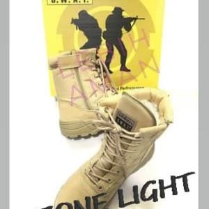 Sepatu Army Tactical Swat 8 Zipper Airsofter Boots Import Tokopedia
