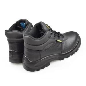 Krisbow Safety Shoes Maxi 6 Inch Hitan Sepatu Safety Sepatu Pengaman Tokopedia