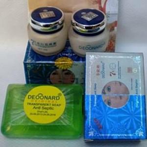 Kehebatan Paket Deoonard Biru Set 20gr Sabun Khusus Jerawat Cream Source · Deoonard 7 days whitening