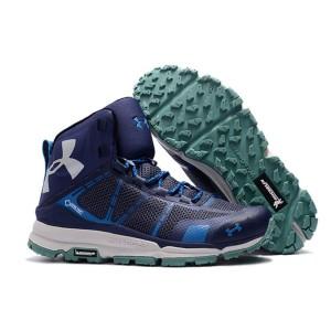 Under Armour Ua Verge Mid Gtx Hiking Boots Olive Tokopedia