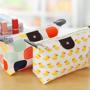 Tas Kosmetik Make Pouch Organizer Bag Corak Classic T Bgk 28 Tokopedia