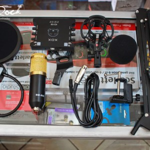 Paket Streaming Recording XOX KS108 & Mic BM 800