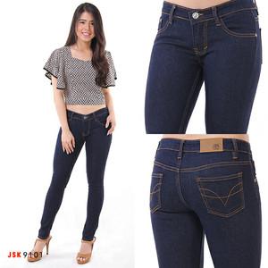 Celana Panjang Wanita Skinny Jeans Putih Soft Jeans Putih White Jeans Cewek Jean Putih Cewek Tokopedia