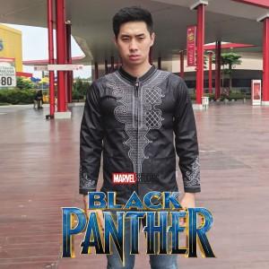 Baju Koko Black Panther Tokopedia