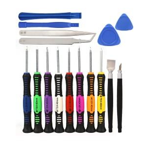 Obeng Set 16 In 1 Reparasi Smartphone Handphone Multi Color Tokopedia