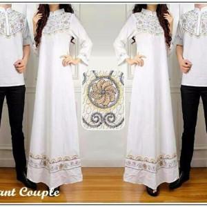 Couple Elegan Putih Cp Batik Katun Tokopedia