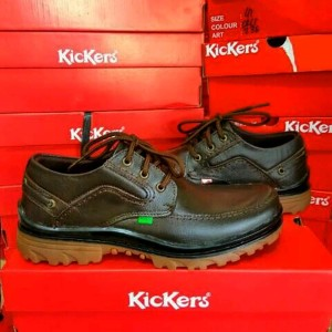 Sepatu Kickers Lheather Mens Tokopedia