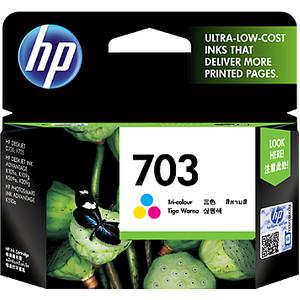 Hp 703 Tinta Tri Color Ink Cartridge Tokopedia