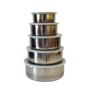 [HIGH QUALITY] RANTANG STAINLESS ISI 5 / RANTANG SUSUN STAINLESS