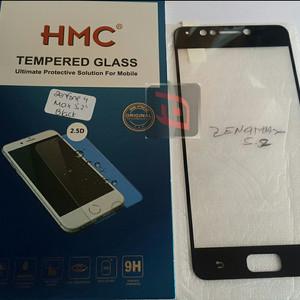 Hmc Asus Zenfone 4 Max Pro Zc554kl Tempered Glass 25d Full Screen Lis Black Tokopedia