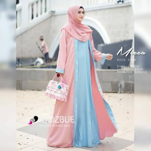 Baju Muslim Gamis Dress Abaya Crepe Polos Renda Turismo Ori Tokopedia