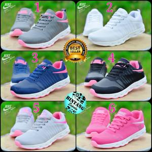 Jual Sepatu sport wanita cewek keren running lari gym fytnes aerobic senam d5e4366adb