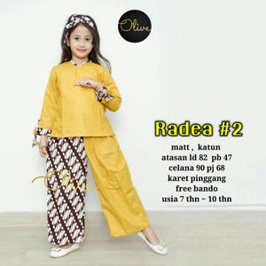 Baju Setelan Anak Baju Batik Perempuan Tokopedia