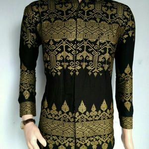 Kemeja Hem Baju Batik Pria Modern Tokopedia