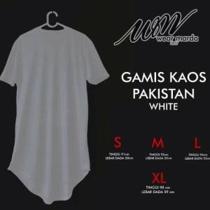 Baju Koko Gamis Pakistan Bahan Kaos Hitam Tokopedia