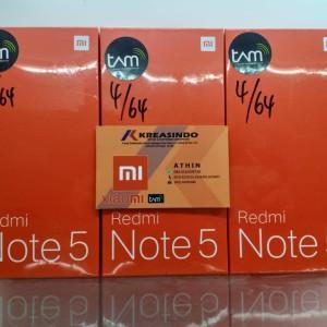 Xiaomi Redmi Note 5 64gb Ram 4gb Rom 64 Gb Tokopedia