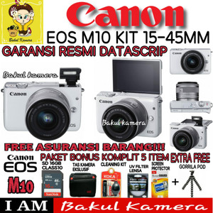 Canon Eos M10 Kit Tokopedia