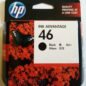 Tinta Hp 46 Black Tokopedia