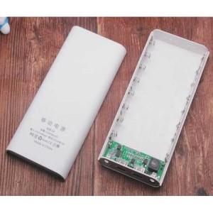 Modul Mesin Case Power Bank Powerbank USB Type C 2 Output LCD 8x18650