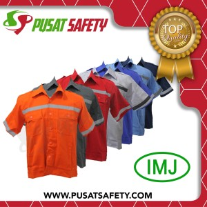 Baju Kerja Safety Lengan Pendek Tokopedia