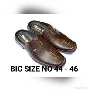 Sepatu Selop A8 Coklat Tokopedia