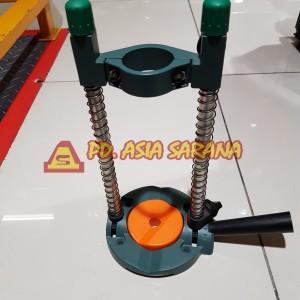 Jual Mobile Drill Stand Krisbow / Dudukan Bor Tangan Listrik Krisbow