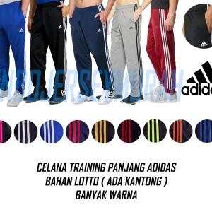 Celana Training Panjang Olahraga Adidas F50 Tokopedia