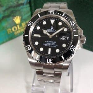 Rolex Submariner Silver Black 40mm Ring Ceramic Premium Tokopedia