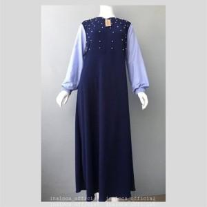 Jual Kemilau Maxi Model Baju Muslim Gamis Blouse Atasan Busana Wanita Keren befa246f6f