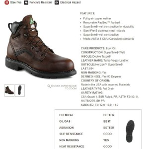 Red Wing 6 Inch Boot Boa Lace Tokopedia