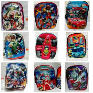 Laki - Tas Sekolah Anak Karakter Bagus / Ransel Backpack 3D Keren Gaya