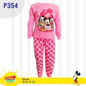 Baju Setelan Mickey Anak Perempuan Tokopedia