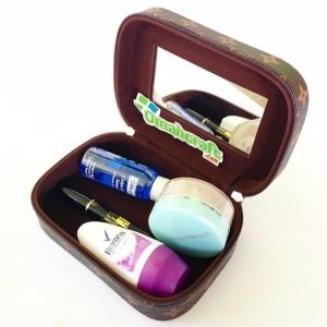 Make Up Case Motif Lv L Tempat Make Up L Beauty Case And Kosmetik Tokopedia