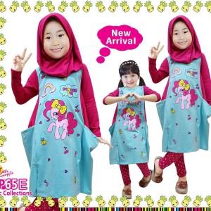 Setelan Baju Muslim Little Penapple 66 Size 2 S D 12 Tokopedia