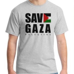 Kaos Baju Save Gaza Palestina Tokopedia