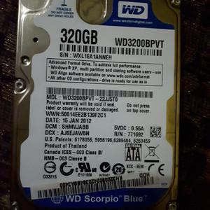 Hardisk Laptop 320 Gb Sata Murah Bergaransi Tokopedia