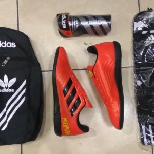 Paket Komplit Sepatu Futsal Adidas X Techfit Tokopedia
