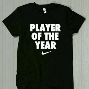 Kaos Baju Nike Player Distro Sport Biru Exclusive Jeryhansen Tokopedia