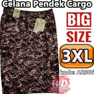Celana Cargo Pendek Ukuran Besar Jumbo Katun Karet 7 8 Tokopedia