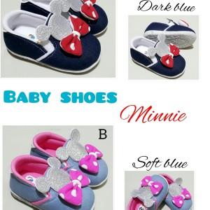 Sepatu Anak Perempuan Foxing Minnie Baby Tokopedia