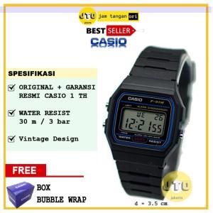 Jam Tangan Casio Unisex Pria Wanita Original Mw 59 1e Tokopedia
