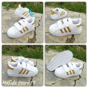 Sepatu Anak Laki Adidas Superstar Warna Putih Sepatu Sekolah Anak Tokopedia