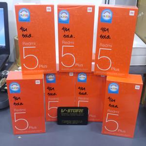 Xiaomi Redmi 5 Plus Gold Ram 4 64 Tokopedia