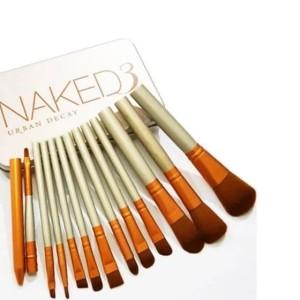 Kuas Makeup Brush Set Alat Kosmetik Naked 3 Tokopedia