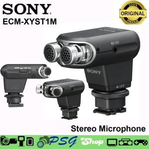 Sony Stereo Microphone Ecm Xyst1m Harga Promo Tokopedia