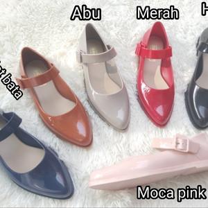 Sepatu Wanita Flat Shoes Sepatu Casual T3 Biru Tokopedia
