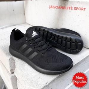Sepatu Adidas School Sepatu Full Black Sepatu Sekolah Hitam Sepatu Olahraga Sepatu Unisex Couple Anak Tk Sd Smp Att Anak Dalas Nike Anak Tokopedia