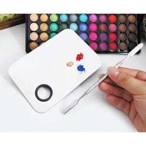 Promo Set Mixing Palette Spatula Makeup Palet Kosmetik Stainless Steel Tokopedia